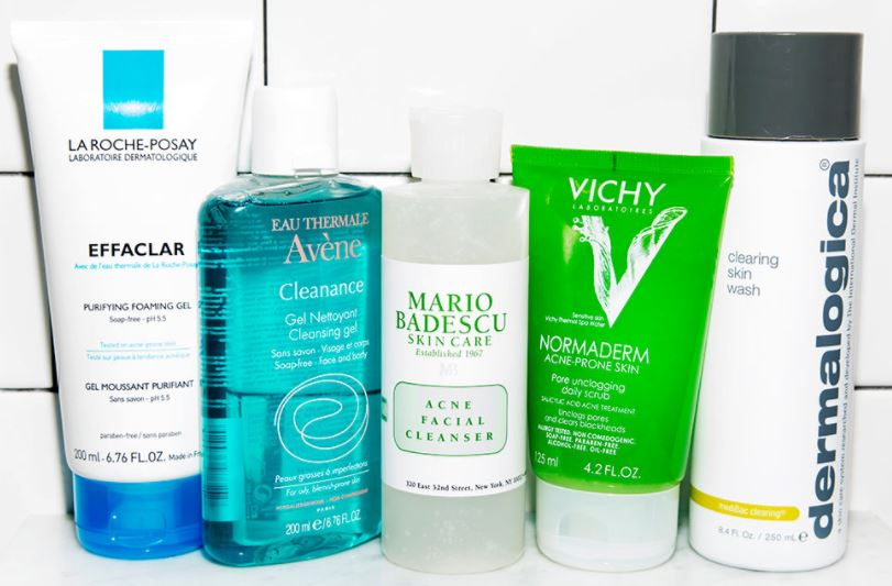 Best facial cleansers for oily skin