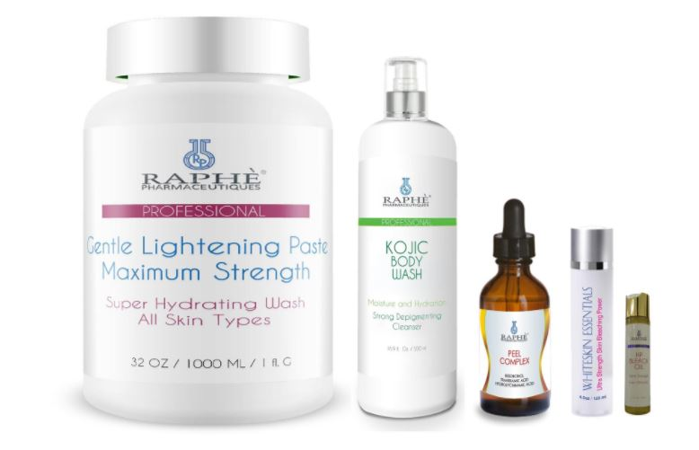 Natural bleaching products